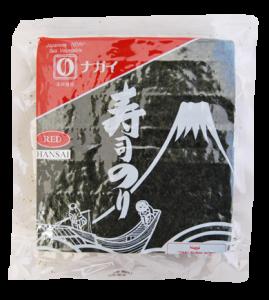 E0086 NAGAI YAKI SUSHI NORI HANSAI RED BULK 280G v2