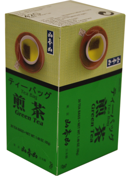 J1014 Greentea TeaBag