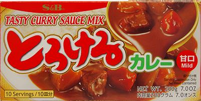 f1020 torokeru curry mild 200g s&b V2