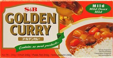 f1042 golden curry mild 240g s&b V2