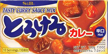 f1046 torokeru curry hot 200g V2