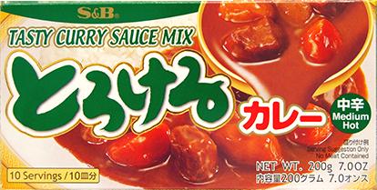 f1064 torokeru curry mh 200g s&b V2