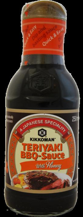 B7116 KIKKOMAN TERIYAKI BBQ SAUCE WITH HONEY 250ML V2