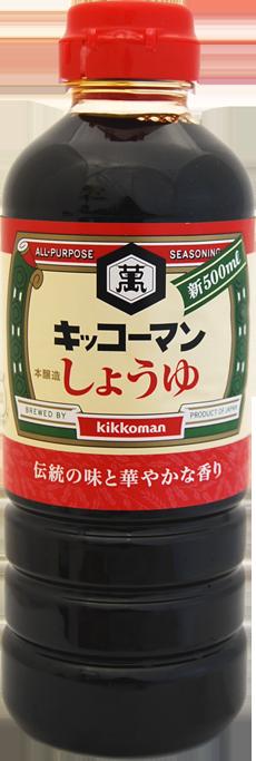 B0079 KIKKOMAN SHOYU 500ML (J) V2