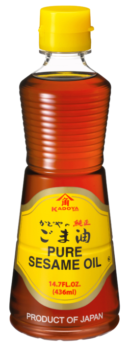 B3034 KADOYA GOLD SESAME OIL PET 436ML